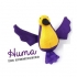 Beco plush wand toy Hummingbird