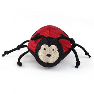 Beco plush wand toy ladybird