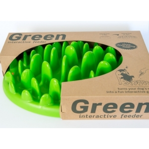 Green Mini interactive feeder