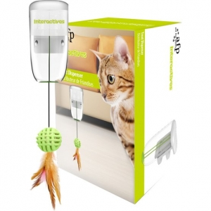 Interactive treat dispenser