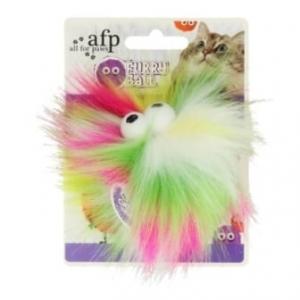 AFP Furry Fluffer Ball Yellow