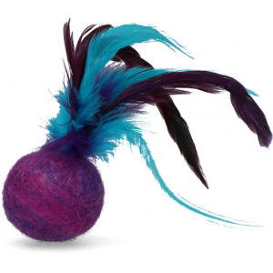 Feather Dream Ball Purple